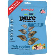 Grandma Lucy's Pureformance Starters Grain-Free/Freeze-Dried Fish Recipe Dog Treats, 6-oz bag