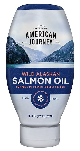American Journey Wild Alaskan Salmon Oil Liquid Dog Amp Cat