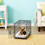 Frisco Heavy Duty Single Door Dog Crate, 22-in
