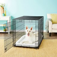 Frisco Heavy Duty Single Door Dog Crate, 48-in