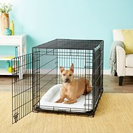 Frisco Heavy Duty Double Door Dog Crate, 42-in