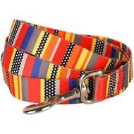 Blueberry Pet Patterned Dog Leash, Nautical Flags, 4-ft, 1-in