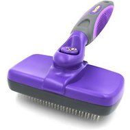 Hertzko Self-Cleaning Dog & Cat Slicker Brush, Regular