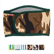 Alfie Pet Belly Band Male Dog Wrap, Small, Green Camo