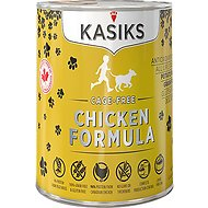 KASIKS Cage-Free Chicken Formula Grain-Free Canned Dog Food, 12.2-oz, case of 12