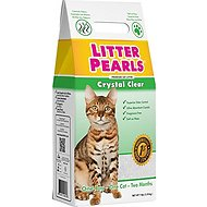 Litter Pearls Crystal Clear Cat Litter, 7-lb bag