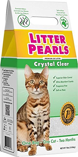 Crystal Clear Cat Litter Pearls