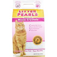 Litter Pearls Micro Crystal Cat Litter, 7-lb bag