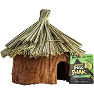eCOTRITION Snak Shak Hamster, Gerbil, Mouse & Rat Natural Hide Away, Small