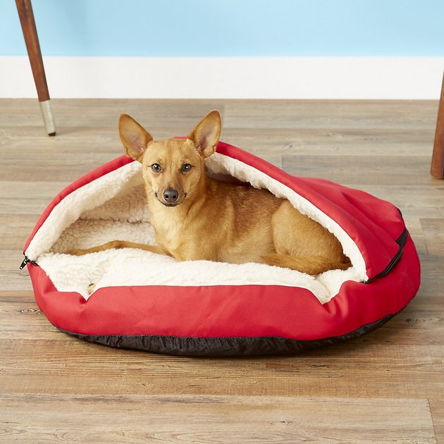 Pet Parade Covered Pillow Cat Dog Bed With Removable Cover Chewy Com