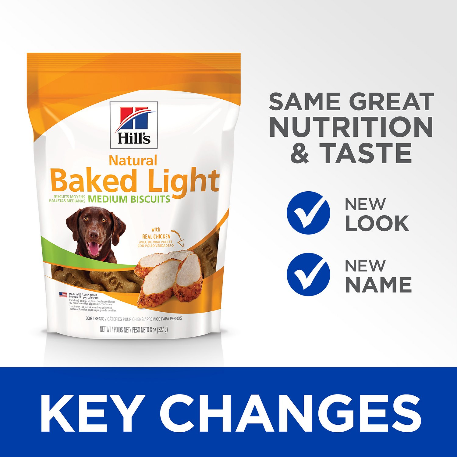 Hill S Natural Baked Light Biscuits With Real Chicken Dog