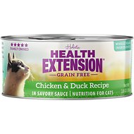 Health Extension Grain-Free Chicken & Duck Recipe Canned Cat Food, 2.8-oz, case of 24