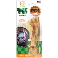 Nylabone Healthy Edibles Wild Turkey Dog Bone Treat, Giant, 1  count