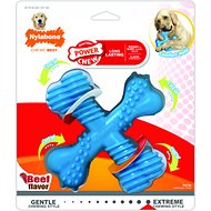 Nylabone DuraChew X Bone Beef Flavored Dog Toy, Giant