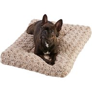 Frisco Mocha Swirl Pet Bed & Crate Mat, 24-in