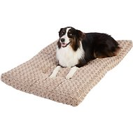 Frisco Mocha Swirl Pet Bed & Crate Mat, 48-in
