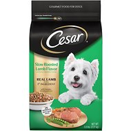 Cesar Slow Roasted Lamb Flavor & Spring Vegetables Garnish, Small Breed Dry Dog Food, 5-lb bag