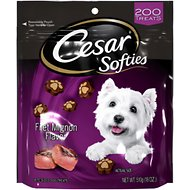 Cesar Softies Filet Mignon Dog Treats, 18-oz bag