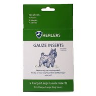 Healers Gauze Replacement Dog Bootie Inserts, Large/X-Large, 5 count