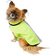 Healers Spot-Lite LED Mesh Back Lighted Dog Jacket, X-Small, Neon Green
