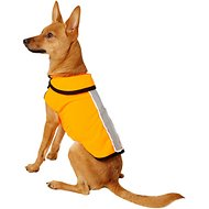 Healers Spot-Lite LED Mesh Back Lighted Dog Jacket, Neon Orange, X-Small