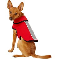 Healers Spot-Lite LED Red Fleece Back Lighted Dog Jacket, X-Small