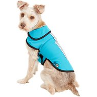 Healers Spot-Lite LED Mesh Back Lighted Dog Jacket, Teal, Small