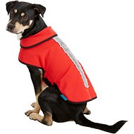 Healers Spot-Lite LED Red Fleece Back Lighted Dog Jacket, Medium