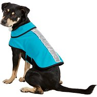 Healers Spot-Lite LED Mesh Back Lighted Dog Jacket, Teal, Medium