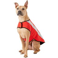 Healers Spot-Lite LED Red Fleece Back Lighted Dog Jacket, Large