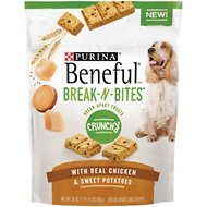 Purina Beneful Break-N-Bites Crunchy Chicken & Sweet Potatoes Dog Treats, 30-oz bag
