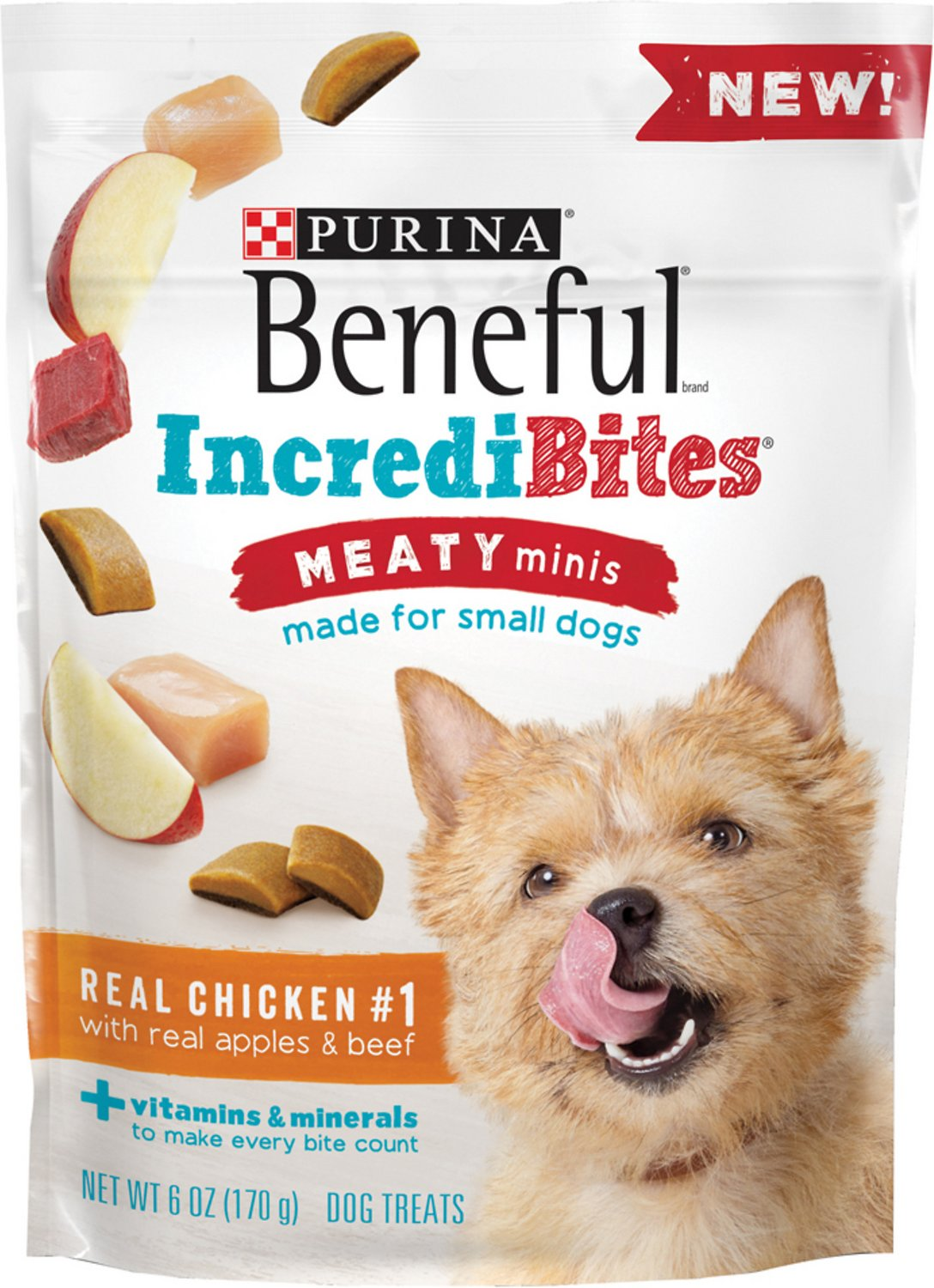 Purina Beneful Incredibites For Small Dogs Meaty Minis Real Chicken