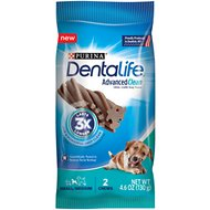 DentaLife Advanced Clean Oral Care Small/Medium Dental Dog Treats, 2 count