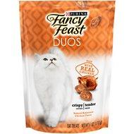 Fancy Feast Duos Natural Rotisserie Chicken Flavor Cat Treats, 6-oz bag