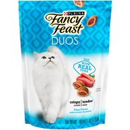 Fancy Feast Duos Tuna Flavor with Accents of Parsley Cat Treats, 6-oz bag