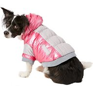 Pet Life Sporty Vintage Aspen Dog Ski Jacket, Pink, Medium
