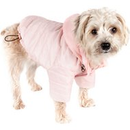 Pet Life Lightweight Sporty Avalanche Dog Coat, Pink, Small