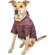 Pet Life Lightweight Sporty Avalanche Dog Coat, Brown, X-Large