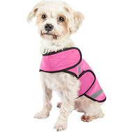 Pet Life Multi-Purpose Protective Shell Dog Coat, Pink, Small