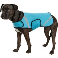 Pet Life Multi-Purpose Protective Shell Dog Coat, Blue, Medium