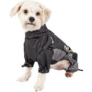 Dog Helios Blizzard Full-Bodied Reflective Dog Jacket, Black, Small