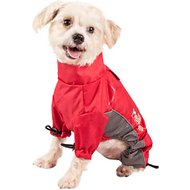 Dog Helios Blizzard Full-Bodied Reflective Dog Jacket, Cola Red, Small