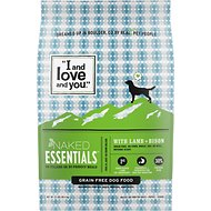 I and Love and You Naked Essentials Lamb & Bison Recipe Grain-Free Dry Dog Food, 23-lb bag