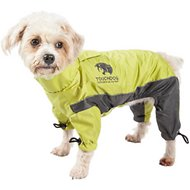 Touchdog Quantum-Ice Full-Bodied Reflective Dog Jacket with Blackshark Technology, Light Yellow, Small