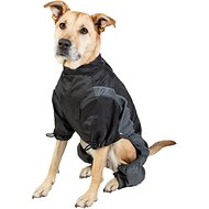 Touchdog Quantum-Ice Full-Bodied Reflective Dog Jacket with Blackshark Technology, Grey, X-Large