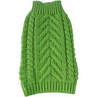 Pet Life Swivel-Swirl Heavy Cable Knitted Dog Sweater, Medium