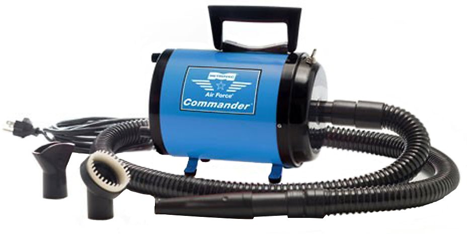 MetroVac Air Force Commander Two-Speed Pet Dryer, Blue - Chewy.com