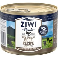 ZiwiPeak Beef Recipe Canned Cat Food, 6.5-oz, case of 12