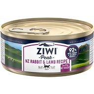 Ziwi Peak Rabbit & Lamb Recipe Canned Cat Food, 3-oz, case of 24