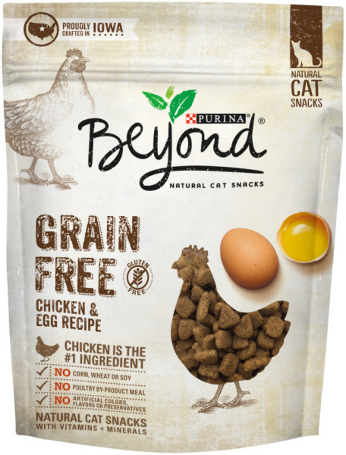 Purina beyond chicken egg recipe grain free cat treats 6 oz bag video forumfinder Image collections